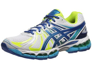 Asics Gel Nimbus 15 NYC Men's Shoes Wh/Bl/Yellow