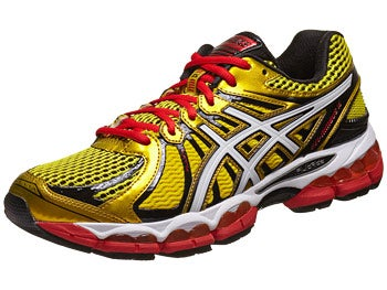 Asics Gel Nimbus 15 Men's Shoes Yel/White/Red