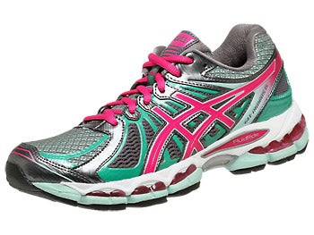 Asics Gel Nimbus 15 Women's Shoes Titanium/Pink/Mint