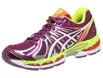 ASICS Gel Nimbus 15 Women's Shoes Wine/White/Yellow