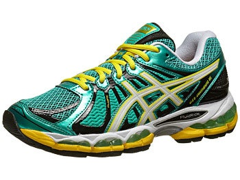 Asics Gel Nimbus 15 Women's Shoes Grn/White/Yellw