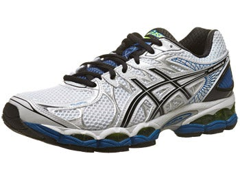 ASICS Gel Nimbus 16 Men's Shoes White/Black/Royal