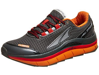 Altra Olympus Men's Shoes Gunmetal/Fiery Red/Orange