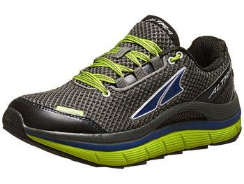 Altra Olympus Men's Shoes Gunmetal/Lime/Maz Blue