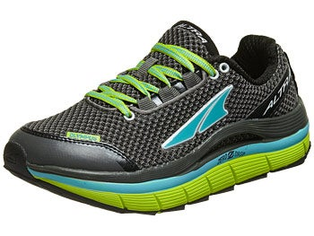 Altra Olympus Women's Shoes Gunmetal/Lime/Blue