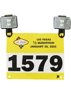Amphipod Reflective Race Number Tabs