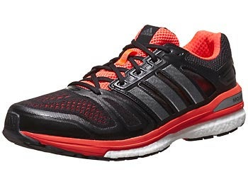 adidas Supernova Sequence 7 Men's Shoes Black/Infrared