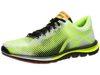 ASICS Gel Super J33 Men's Shoes Yellow/Black/Orange