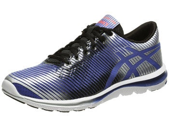 ASICS Gel Super J33 Men's Shoes Blue/Black/Lightning
