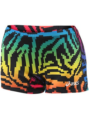 Asics Women's Pixel Rainbow Short Royal/Black