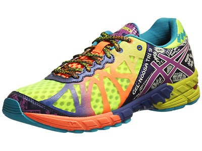 ASICS Gel Noosa Tri 9 Men's Shoes Yellow/Purple/Navy