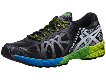 ASICS Gel Noosa Tri 9 Men's Shoes Black/White/Green