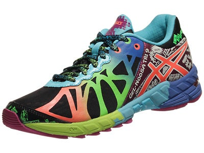 ASICS Gel Noosa Tri 9 Women's Shoes Black/Coral/Green