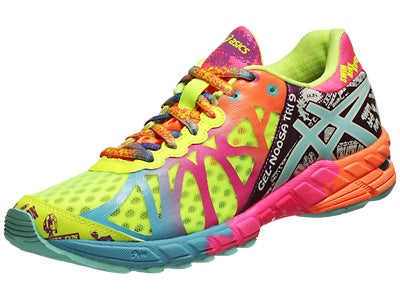 ASICS Gel Noosa Tri 9 Women's Shoes Yellow/Turq/Berry
