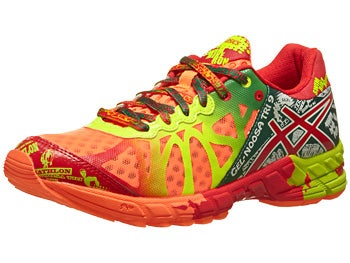 ASICS Gel Noosa Tri 9 Women's Shoes Orng/Red/Yellow