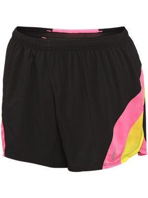 Asics Women's ARD Short Black/Neon Pink