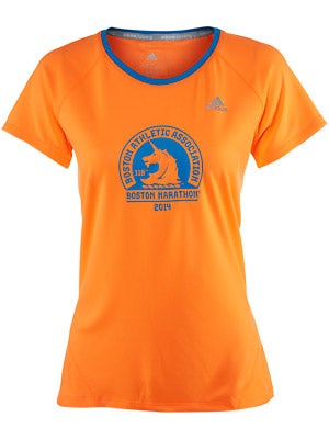 adidas Women's Boston Marathon Graphic SS T