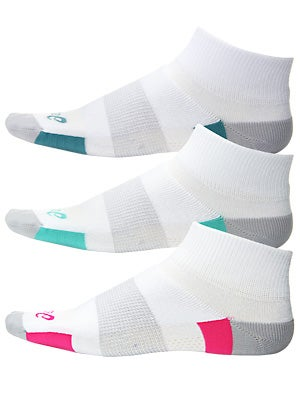 Asics Intensity Quarter Women's Socks 3-Pack