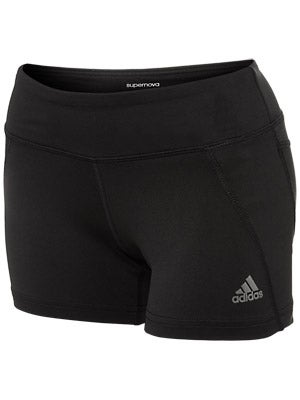 adidas Women's Supernova Fitted Short Black