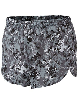 BOA 1inch Elite Split Leg Print Short Digital Camo