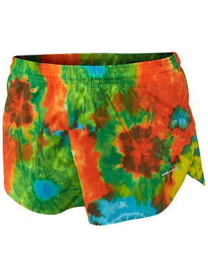 BOA 1inch Elite Split Leg Print Short Woodstock