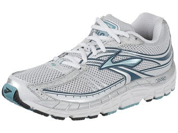 Brooks Addiction 10 Women's Shoes Aqua/Silver