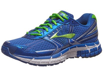 Brooks Kids Adrenaline GTS 14 Boy's Shoes Blue/Grn/Wht
