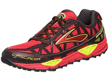 Brooks Cascadia 8 Men's Shoes Java/Red/NightLife