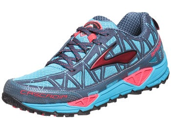Brooks Cascadia 8 Women's Shoes Blue/Red/Sea/Blk