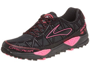 Brooks Cascadia 8 Women's Shoes Iron/Black/Pink