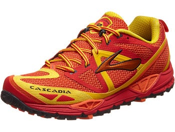 Brooks Cascadia 9 Men's Shoes Red/Orange/Lemon