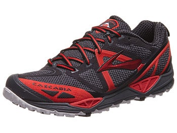 Brooks Cascadia 9 Men's Shoes Anthracite/Red/Black