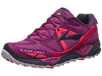 Brooks Cascadia 9 Women's Shoes Fuchsia/Midnight/Crl