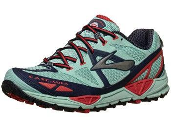 Brooks Cascadia 9 Women's Shoes Yucca/Obsidian/Hibis