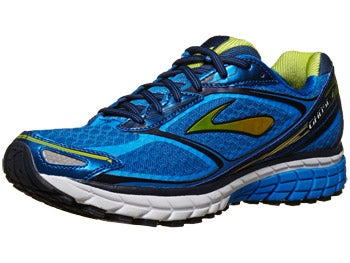 Brooks Ghost 7 Men's Shoes Blue/Lime/Navy