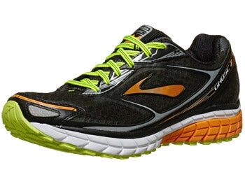 Brooks Ghost 7 Men's Shoes Black/Orange/Silver