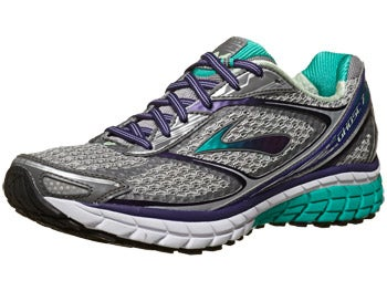 Brooks Ghost 7 Women's Shoes Silver/Purple/Green