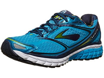 Brooks Ghost 7 Women's Shoes Blue/Eclipse/Lime