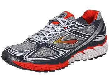 Brooks Ghost 5 Men's Shoes Orange/White/Silver