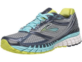 Brooks Ghost 6 Women's Shoes Silver/Sulphur/Midnight