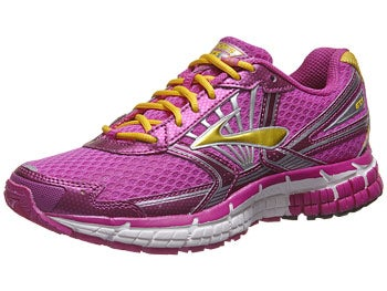 Brooks Kids Adrenaline GTS 14 Girls Shoes Violet/Dande