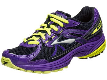 Brooks Kids Adrenaline GTS Girls Shoes Purp/Nghtlife