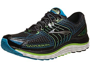 Brooks Glycerin 12 Men's Shoes Black/Green/Blue