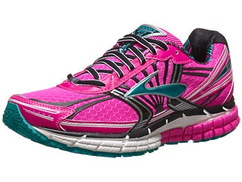 Brooks Adrenaline GTS 14 Women's Shoes Pink/Black/Capri