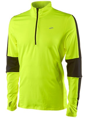 Brooks Men's Essential LS 1/2 Zip II Nightlife