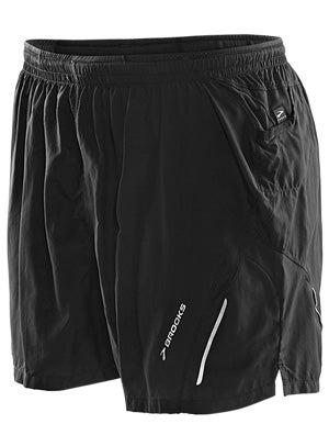 Brooks Men's Infiniti Notch Short II Black & Anthracite