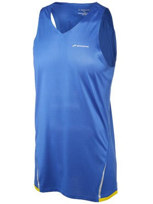 Brooks Men's Infiniti Singlet Electric