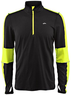 Brooks Men's Nightlife Essential LS 1/2 Zip