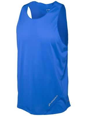 Brooks Men's Race Day Singlet Americana & Electric