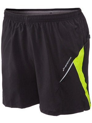 Brooks Men's Nightlife Sherpa Short III Black/Yellow